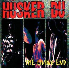 HÜSKER DÜ - THE LIVING END CD (LIVE 1987) RARE US-TOUR LIVE-ALBUM / US-PUNK