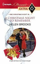 A Christmas Night to Remember, Helen Brooks, Acceptable Book
