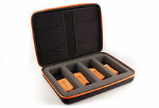 3ACTIVE® Premium Four-Pack Storage Case. Protects Four Pairs of 3D Glasses.