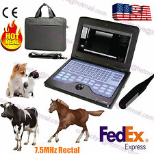 Veterinary VET portable Ultrasound Scanner Machine For cow/horse/Animal,rectal