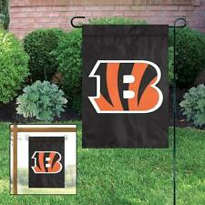 Cincinnati Bengals Applique and Embroidered Mini Garden/Window Flag