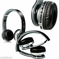 UNIVERSAL BOXED BLUETOOTH WIRELESS HEADSET HEADPHONES + MIC FOR TV COMPUTER PC
