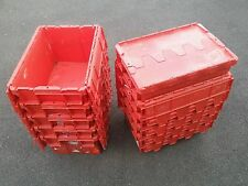 50 X Boxes. Plastic Crate, 80L Container, Tote Box Self Storage, Stackable Boxes
