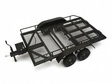 Aluminum Dual Axle Trailer for 1/10 Scale Vehicles w/Leaf Spring Team Raffee Co.