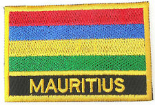 Mauritius Embroidered Sew or Iron on Patch Badge