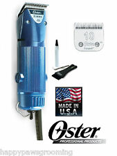 Oster A5 TURBO 2 Speed HEAVY DUTY Clipper Cryogen X 10 Blade Dog Horse NEW MODEL