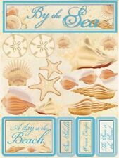 Reminisce BY THE SEA Dimensional 3D Stickers Scrapbooking Paper Crafts