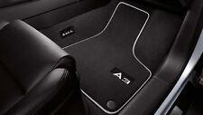 Original Audi A3 Textilfußmatten Premium vorn hinten Veloursmatten Textilmatten