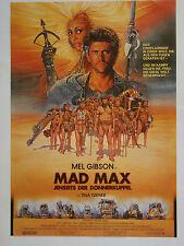 Mad Max - Jenseits der Donnerkuppel - Original Filmplakat DIN A1
