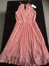 Next Coral Colour Dress BNWT SIZE 12 Petite RRP £68