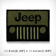 New Jeep Embroidered Patch Iron On or sew Decorate RACING Sports MOTOR car AUTO