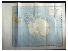 1931 Holtedahl - NORVEGIA EXPEDITION - Antarctic Whaling - COLOR MAP - 11