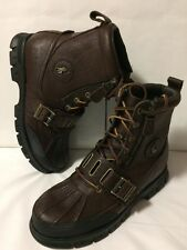 NEW Polo Ralph Lauren Andres III Mens 11.5 Hiking Trail Winter Zip Ankle Bo