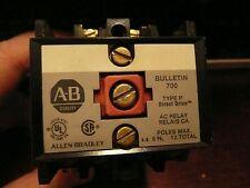 Allen Bradley Relay 700 -P400A1-SER B NEW