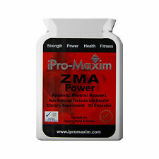 ZMA Zinc MAGNESIUM Vitamin B6 Extreme Muscle Growth Strength 90 x 1000mg capsule