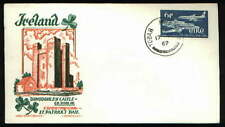 DUNSOGHLEY Castle St Patrick's Day Scarce Ireland Staehle Cachet FDC 1962 (IR3