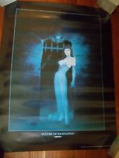 ~~ BROM ~ ALLURE OF DAMNATION POSTER  ~ 2001 ~ HARD TO FIND! ~~