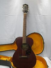 Vintage 1960's Guild M-20 USA Made 6 String Acoustic Guitar SN 38556 With Case