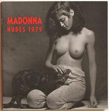 MADONNA Nudes 1979 photo book by M. SCHREIBER