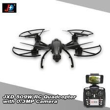 Original JXD 509W 6-Axis Gyro Wifi FPV RC Quadcopter w/ 0.3MP Camera Drone MU0W