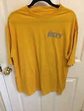 USN Authentic US Navy Physical Training (PT) Short Sleeve Shirt - Extra Large XL