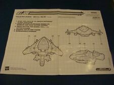 Tigerhawk  Blueprints GI JOE