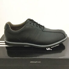 ADIDAS MEN'S ADIPURE TC GOLF SHOES SIZE: 9 MEDIUM  CORE BLACK *SAMPLE* TP 17330