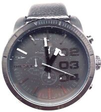 Diesel DZ4216 Black Dial & Leather Strap Men's Watch