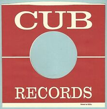 CUB REPRODUCTION RECORD COMPANY SLEEVES - (pack of 10)