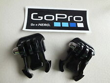 2 x Quick Release Buckle Mounts Clips For GoPro HD Hero 1 2 3 3+ 4  & STICKER