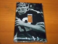 PITTSBURGH STEELERS TERRY BRADSHAW LIGHT SWITCH PLATE #2