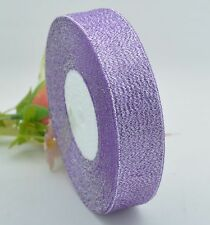25Y Sparkle Organza Ribbon Glitter Wedding Gift Decoration Crafts 6/10/15/25mm
