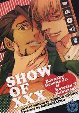 TIGER & BUNNY YAOI Doujinshi ( Barnaby x Kotetsu ) SHOW OF XXX, MICROMACRO