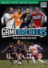 Game Breakers The Stars of Major League Soccer DVD 2008 MLS USA New Soccer NIP
