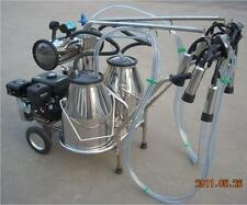 Portable Gasoline Vacuum Pump Milking Machine For Cows - Factory Direct -