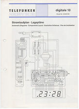 Service Manual Telefunken Rundfunk Radio Digitale 10 (122)