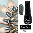 MAX 7ml Nail Art Color UV LED Soak Off Gel Polish #024-Slate Grey