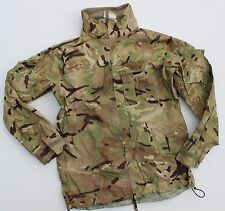 (4) BRITISH ARMY GORETEX BREATHABLE WATERPROOF JACKET MVP MTP MULTICAM CAMO M