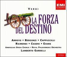 Verdi: La Forza del Destino CD, Sep-1999, 3 Disc box set EMI Music Distribution
