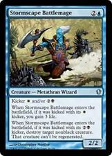 STORMSCAPE BATTLEMAGE Commander 2013 MTG Blue Creature — Metathran Wizard Unc