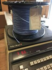 250ft  M17/176-00002 77OHM TwinAxial  Hi Temp, High Frequency  Mil Spec blue