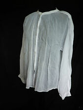 COMPTOIR DES COTONNIERS VERY SOFT 100% COTTON BLOUSE TOP GATHERED OVERSIZE 42 12