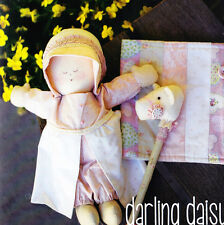 PATTERN - Darling Daisy - cute little doll PATTERN from May Blossom