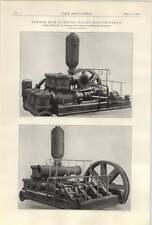 1922 Treble Ram Pumping Plant For Trinidad
