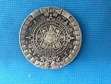 ANCIENT ALIENS MAYAN INCA AZTEC ALIEN UFO CHARIOT OF THE GODS BELT BUCKLE