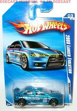 2008 '08 MITSUBISHI LANCER EVO EVOLUTION HOT WHEELS NIGHTBURNERZ DIECAST RARE