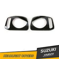 SUZUKI JIMNY JB23 JB33 JB43 JB53 Angry Bird Headlights Eyebrow Frame Cover Trim