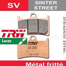 Plaquettes de frein Avant TRW Lucas MCB 611 SV pour Yamaha TZR 250 (3MA) 89-92