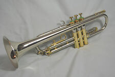 1961 OLDS OPERA PREMIER MODEL O-12 PRO Bb TRUMPET~LARGE BORE ~SOLID NICKEL BELL