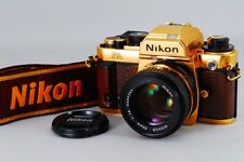 【RARE Grand Prix ´84】 Exc+++++ Nikon FA Gold w/ NIKKOR Ai-s 50mm F1.4 from Japan